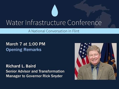 WIC 2017 - Water Infrastructure Conference: A Conversation in Flint