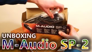 M-Audio SP-2 Unboxing and Set Up (Sustain Pedal)