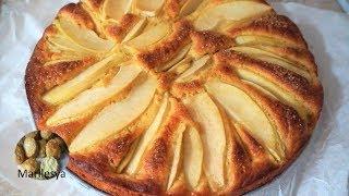 Сдобный пирог с грушами не поверите что из дрожжевого теста