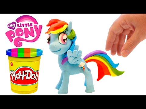 Thumbnail: Play Doh Rainbow Dash Stop Motion Playdough My Little Pony Animation