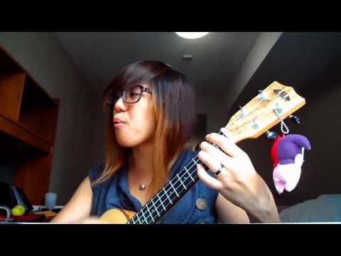 1,2,3,4- Plain White Ts [Ukulele Cover] By Vivian Lim & A Little Update! :D