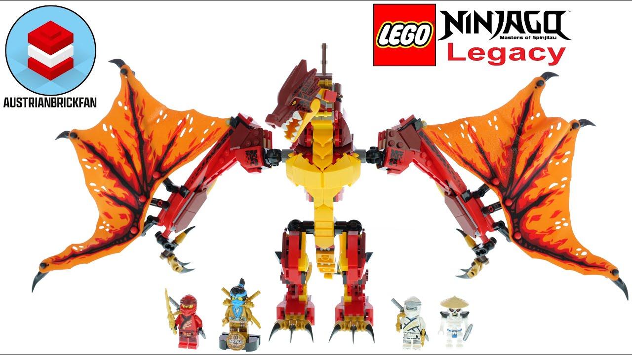LEGO Ninjago 71753 Fire Dragon Attack - LEGO Speed Build Review