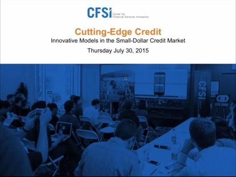 #Webinar: Cutting-Edge #Credit Innovative Models in the Small-Dollar Credit Market