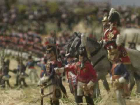The battle of Waterloo part 2. Order soldiers on www.hand-painted-soldiers.com.