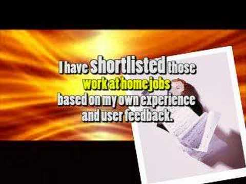 Work from home jobs for mothers