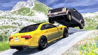 Spectacular Crashes #1 - BeamNG Drive | CrashBoomPunk