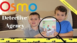 New Osmo Detective Agency game become a detective and travel around the world