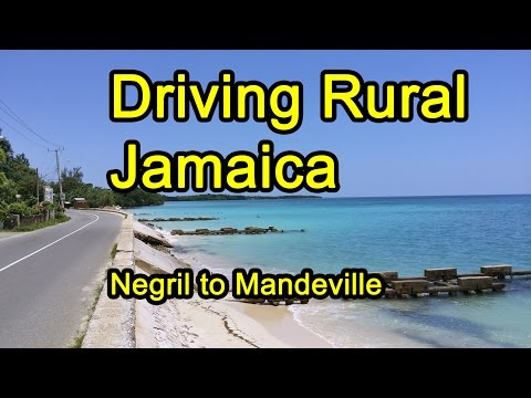 Driving Rural Jamaica in a Rental Car
