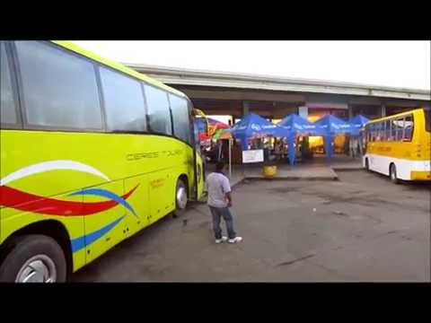 Panay Island bus tour from Iloilo to Aklan Philippines, video 1