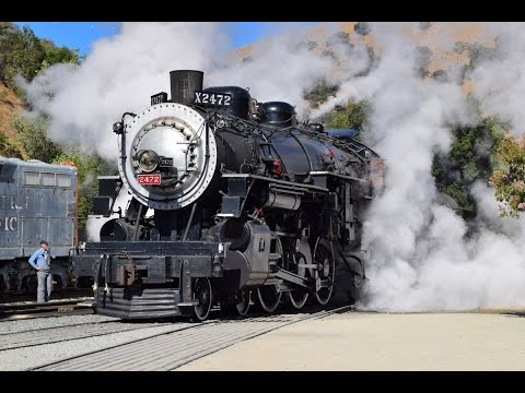 Southern Pacific 2472's Final Day of Steam on the Niles Canyon Railway