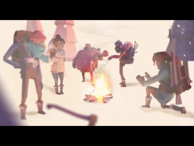 【Project Winter】雪山戶外教學! 走心還是互相幫忙!?  ft.阿神、羽毛、小光、秀康、鬼鬼、雪兔、建盛