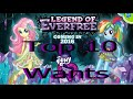 Top 10 Equestria Girls: Legend of the Everfree Wants