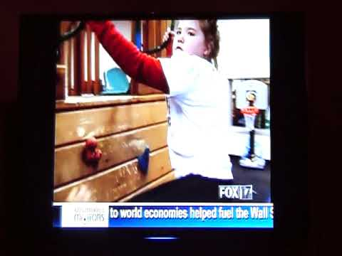 Ariel on Channel 13 News Nov 9, 2009 - a segment about SMS - Smith Magenis Syndrome
