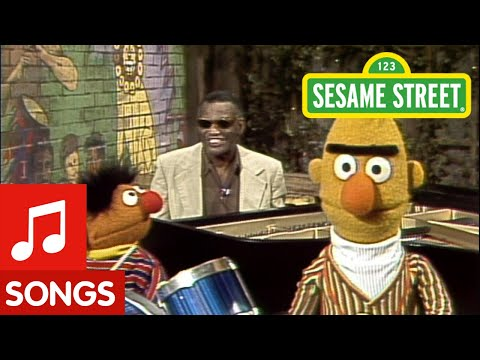 "Sesame Street: Ray Charles Sings ""I Got A Song""  With Bert & Ernie"