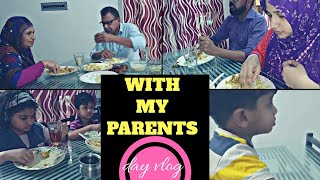 With my parents/Day Vlog/Vella Kalthappam & Chicken curry recipe-Taste Tours by Shabna hasker