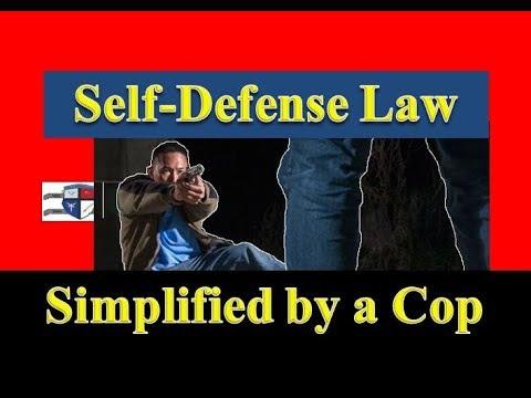 Self Defense Law Explained by a Cop (2018)(Prepper Self Defense)