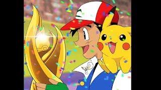 Drawing Ash Ketchum Congratulations Pokémon Master