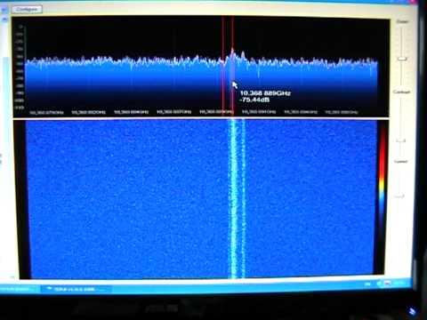 rain scatter  10ghz LX1DB beacon