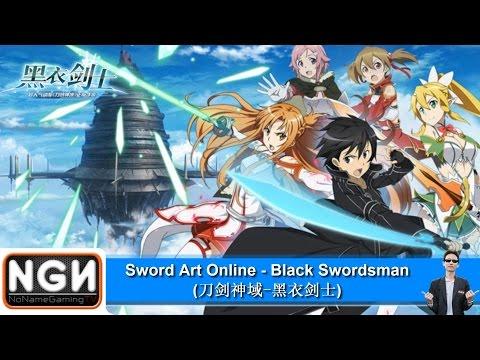 เกมมือถือจีน Sword Art Online - Black Swordsman !!