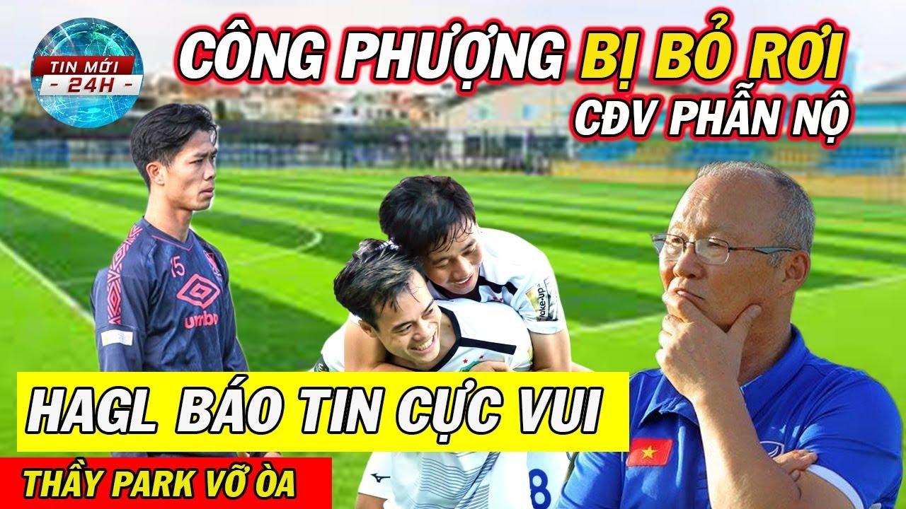 Tin Bóng Đá Việt Nam 21/9: Công Phượng tiếp tục bị bỏ rơi.. HAGL báo tin cực vui đến NHM