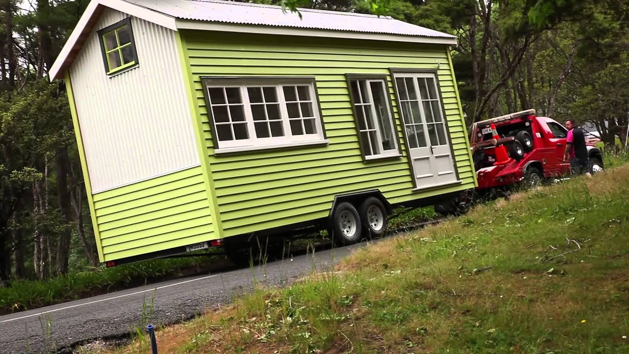Tiny House Moving Day Youtube