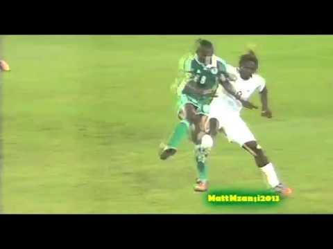 Nigeria vs Burkina Faso   Sunday Mba Goal   AFCON 2013 FINAL   Champions of Africa 2013