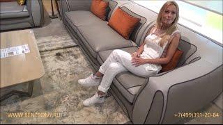 """Видео обзор: Диван и Кресло """"Кораджо"""", натуральная кожа"""