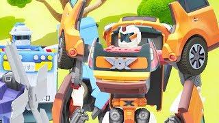 TOBOT English   411 Traps and Transformations   Season 4 Full Episode   Kids Cartoon