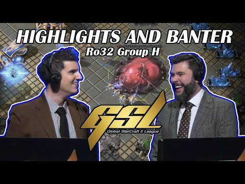 Tasteless And Artosis - GSL 2019 Season 1 Ro. 32 Group H - Highlights And Banter