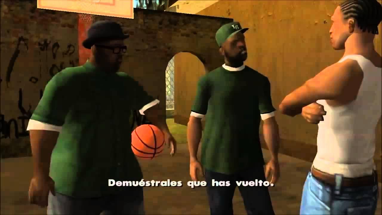 """El Chavo Aniamdo - El Partido de Fútbol """"GTA San Andreas"""""""