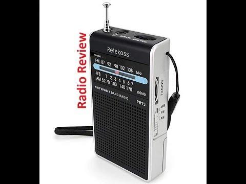 Retekess PR 15 AM FM WB pocket radio review