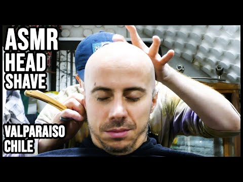💈-asmr-barber-|-relaxing-head-shave-with-steam-|-valparaiso,-chile