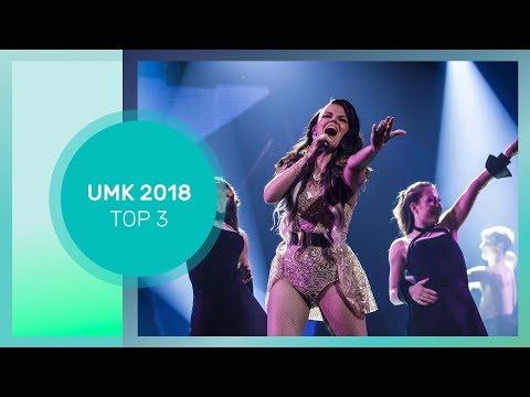 ESC 2018: 🇫🇮 FINLAND NF (UMK 2018) - TOP 3