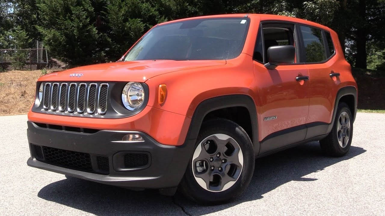 2016 jeep renegade sport 1 4l 6 spd manual test drive review youtube. Black Bedroom Furniture Sets. Home Design Ideas