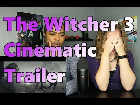The Witcher 3: Wild Hunt - Killing Monsters Cinematic Trailer (React 🔥)
