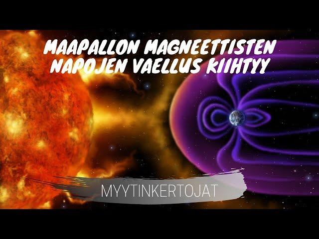 Maapallon magneettisten napojen vaellus kiihtyy