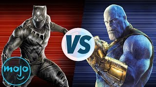 Black Panther VS Avengers: Infinity War