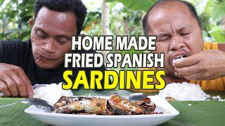 HOME MADE FRIED SPANISH SARDINES