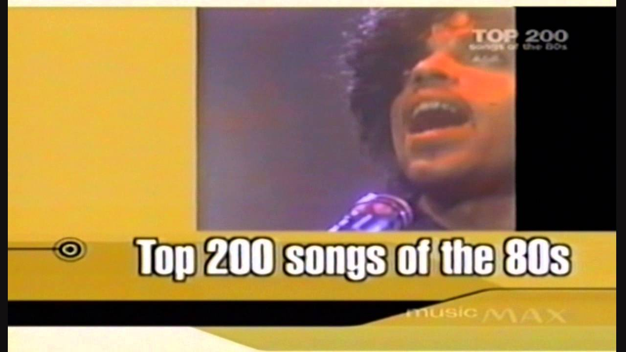Max TV Promo Top 200 Songs Of The 80s