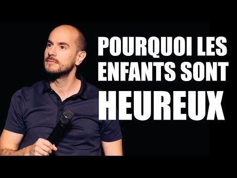 Kyan Khojandi - POURQUOI LES ENFANTS SONT HEUREUX
