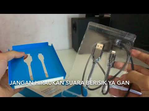 Unboxing Lightning cable anker indonesia