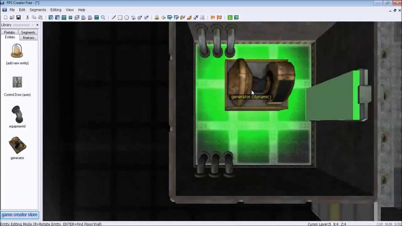 Design and Build a First-Person Shooter Game With FPS Creator