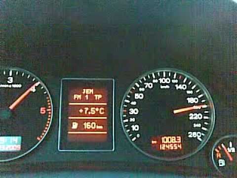 Audi A4 B7 19 Tdi 115ps 200kmh Youtube