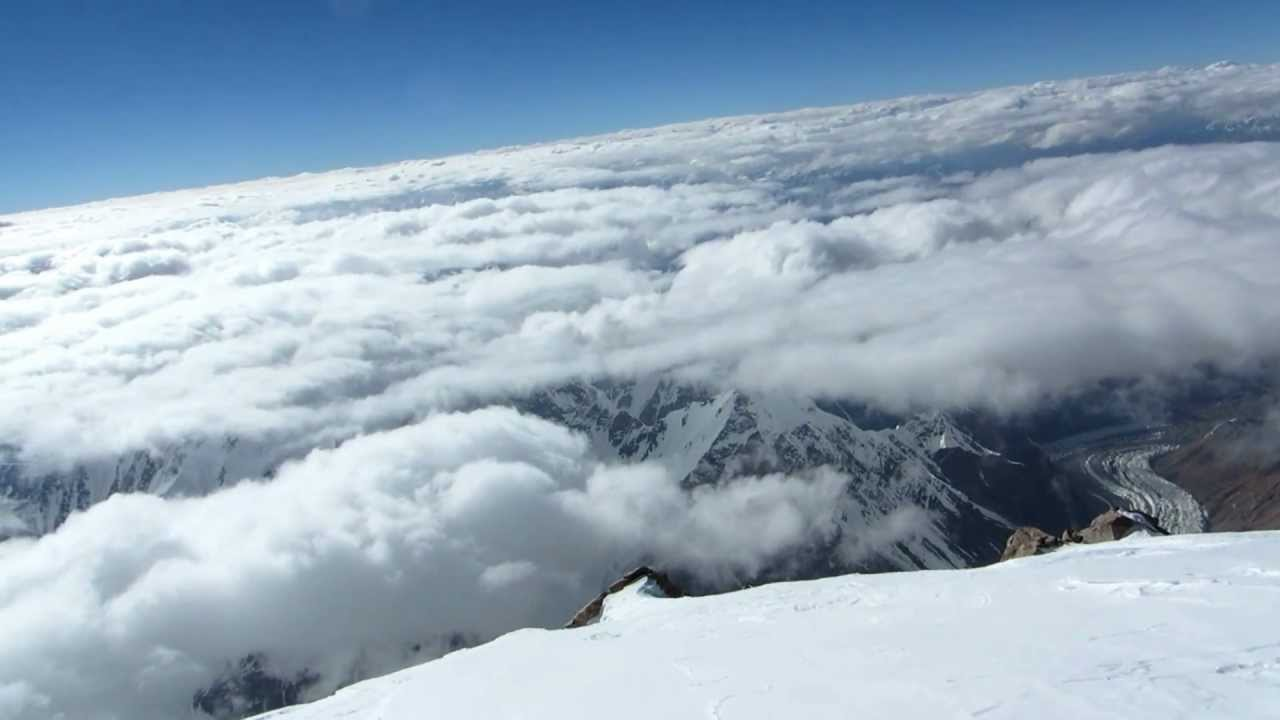 Christian Stangl On Top Of K2 360 Summit View July 31st 2012 Youtube