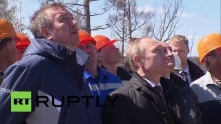 Russia: Putin praises Vostochny Cosmodrome staff after launch success