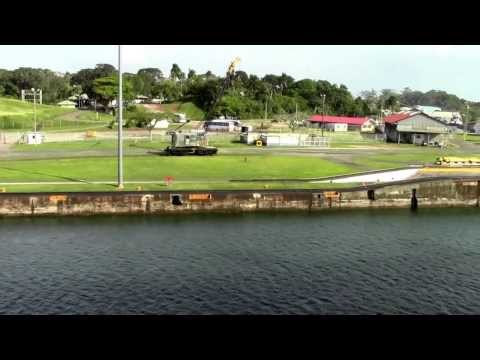 Panama Canal crossing via Legends of Seas RCL