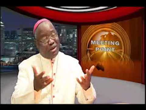 Catholic Archbishop of Jos, His Grace, Most Rev. Dr.  Ignatius Kaigama speak on 'meeting point'