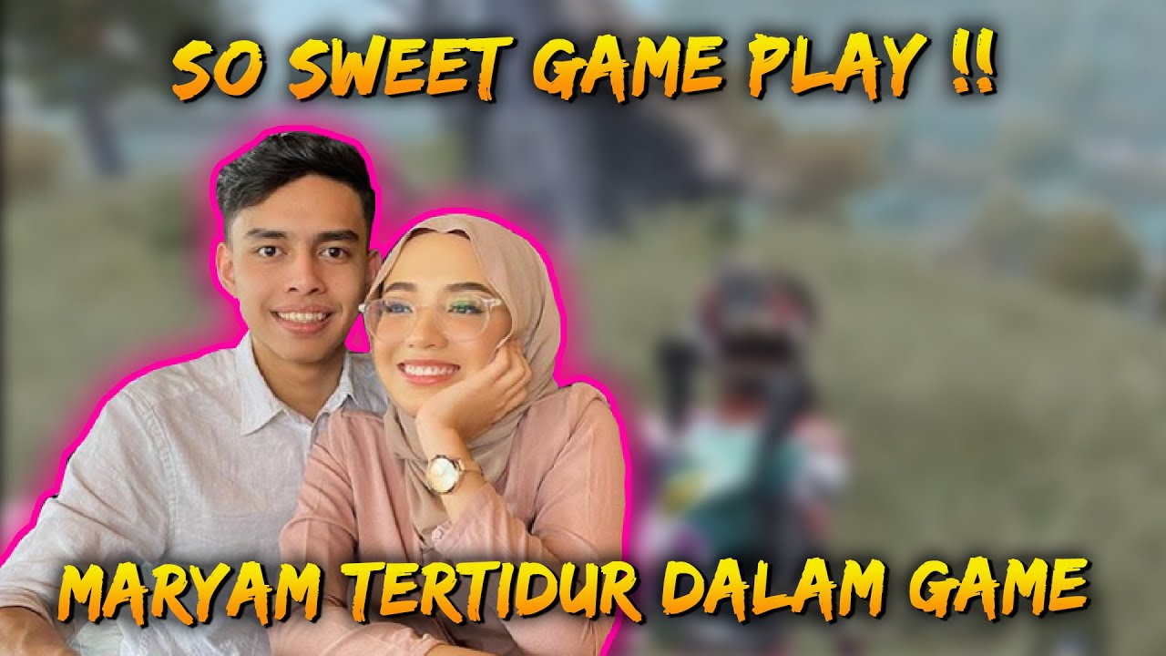 Tengok So Sweet Ironpro & Maryam!! Sampai Tetidur Dalam Game | Ironpro FT Maryam | PUBG Mobile