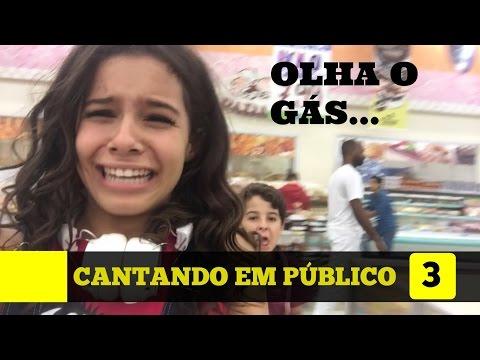 OLHA O GAS - CANTANDO EM PUBLICO 3 - GABRIELLA SARAIVAH