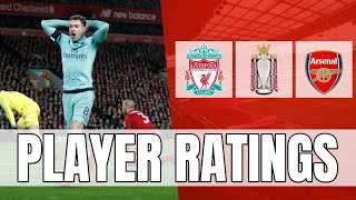 Arsenal Player Ratings - I'm More Annoyed Today Than I Was Yesterday! (RANT)